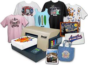 Anajet garment printer franchise review anajet garment for T shirt printing franchise