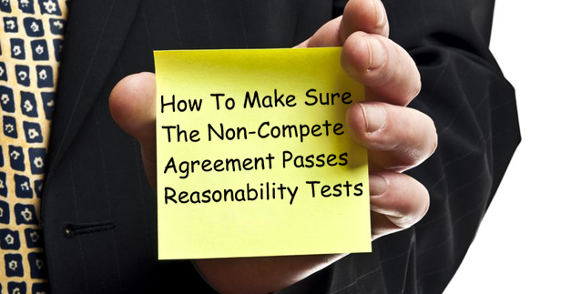 Non-Compete Agreement Passes Reasonability Tests